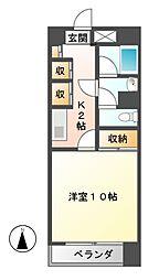 メゾンドール上泉[3階]の間取り