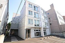 北海道札幌市中央区南六条西23丁目の賃貸マンションの外観