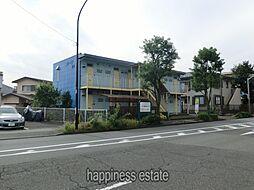 東京都町田市森野5の賃貸アパートの外観