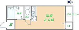 ピア小阪[3階]の間取り