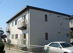 福岡県古賀市新久保1丁目の賃貸アパートの外観