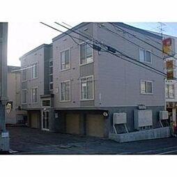 北海道札幌市豊平区月寒西三条7丁目の賃貸アパートの外観