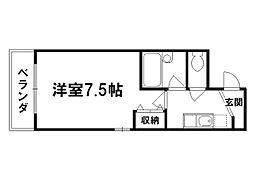 M・FLAT[2階]の間取り