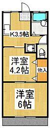 千仙荘[1階]の間取り