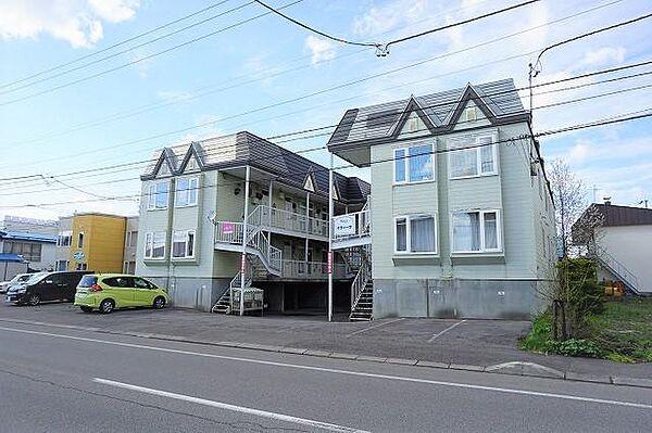 イヴィーサA・B棟 1階の賃貸【北海道 / 旭川市】
