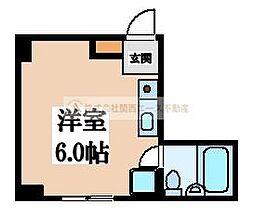 大阪府堺市堺区賑町4丁の賃貸マンションの間取り