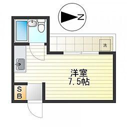 中谷マンション[302号室]の間取り