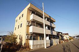 茨城県守谷市ひがし野1丁目の賃貸アパートの外観