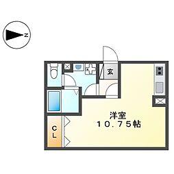 casa wind[1階]の間取り