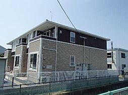 宮城県名取市増田字柳田の賃貸アパートの外観