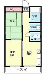 第3つた家ビル[2階]の間取り