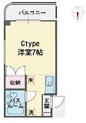 静岡県三島市西本町の賃貸アパートの間取り