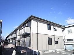 大阪府高槻市西冠2丁目の賃貸アパートの外観