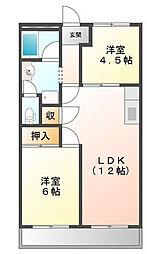 トヨタハイツI[1階]の間取り