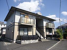 滋賀県東近江市八日市上之町の賃貸アパートの外観