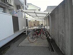 岡山県岡山市中区門田屋敷1丁目の賃貸マンションの外観