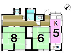[一戸建] 神奈川県横浜市旭区西川島町 の賃貸【/】の間取り