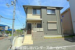 大阪府交野市私部5丁目の賃貸アパートの外観