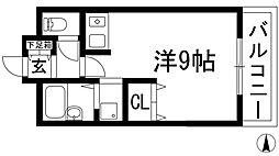 パルハイツ加茂[2階]の間取り
