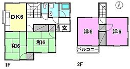 北久米駅 5.3万円