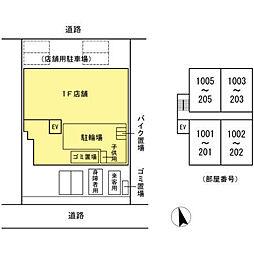 (仮)高島平プロジェクト[402号室]の外観