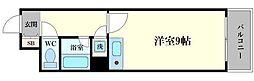 エスリード堂島[2階]の間取り