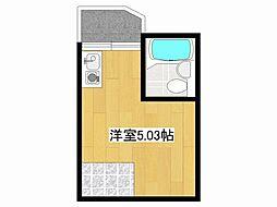 エステマール鶴橋2号館[5階]の間取り