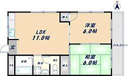 ラミレーネ[2階]の間取り