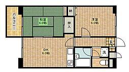 カピトール川崎I[305号室]の間取り