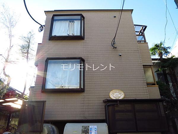 東京都目黒区下目黒6丁目の賃貸マンション