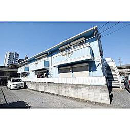 埼玉県川越市仙波町2丁目の賃貸アパートの外観