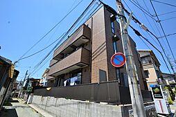 兵庫県神戸市灘区天城通1丁目の賃貸アパートの外観