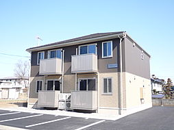 長野県松本市寿北3丁目の賃貸アパートの外観