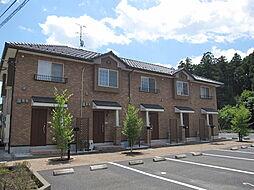 茨城県那珂市杉の賃貸アパートの外観