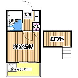 ゾンネグルッペ[2階]の間取り