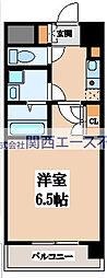 CASSIA高井田NorthCourt[4階]の間取り