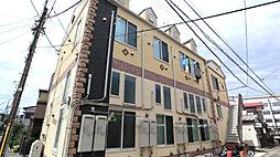 神奈川県横須賀市田浦町4丁目の賃貸アパートの外観