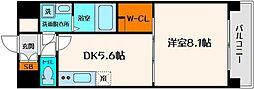 アスリート江坂II番館[8階]の間取り
