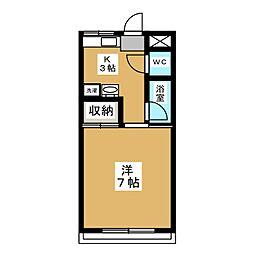 メゾン熊谷[2階]の間取り