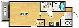 広島県広島市南区東霞町の賃貸アパートの間取り