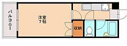 ジョイフルマンション井尻[5階]の間取り