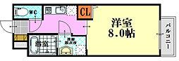 PLEIN SOLEIL 東霞町[1階]の間取り
