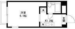 東京都板橋区大原町の賃貸マンションの間取り
