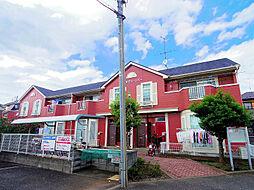 東京都東村山市久米川町1丁目の賃貸アパートの外観