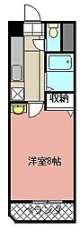 S.K.City八幡[1105号室]の間取り