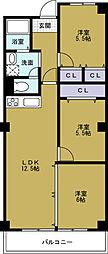第18柴田ビル[7階]の間取り