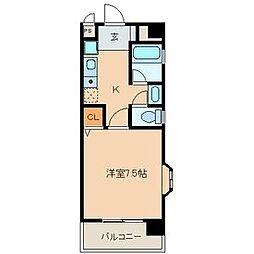 ドエルマルモ303[3階]の間取り