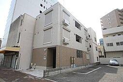岡山県岡山市北区大供2丁目の賃貸アパートの外観