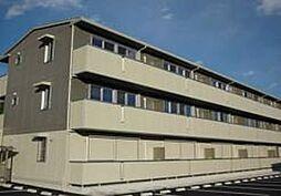 栃木県宇都宮市台新田町の賃貸アパートの外観