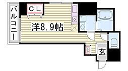 Kitano Flats Plus[2階]の間取り